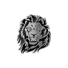 Grand 3D Personality Lion Auto Logo Car Sticker Metal Badge Emblem Tail Decal 1P