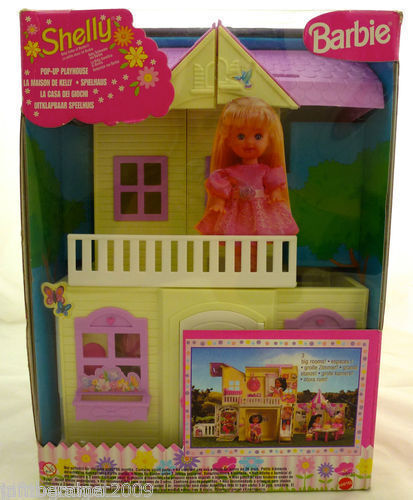 Barbie Shelly Pop Up Playhouse Mattel 1999 22037 Made In  Rare New & Sealed