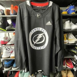Tampa Bay Lightning Adidas Authentic Black Player Practice Jersey ...