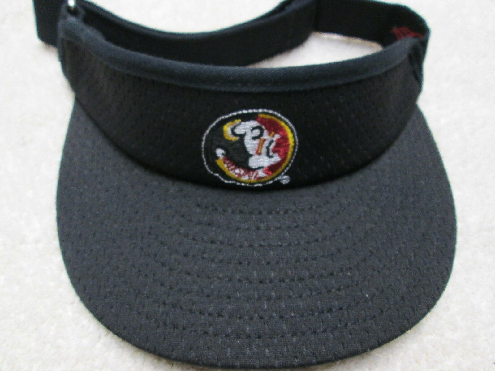 Florida State Seminoles College Fit Baseball Visor/Cap One Fit College NWT Free Shipping 63f423