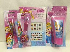 Disney Princess Xmas Gift Set Accessories Lip Gloss Lotion Nail Art Birthday
