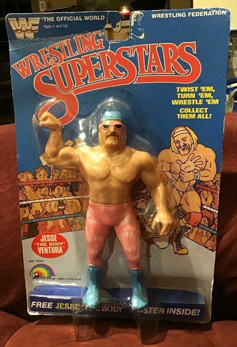 1985 nuovo MOC VINTAGE LJN WWF Wrestling Superestrellas Jesse il corpo VENTURA