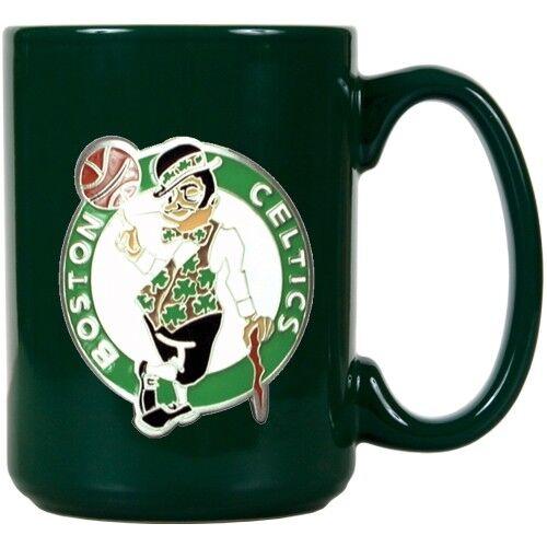 Boston Celtics Mug Metal Team Logo