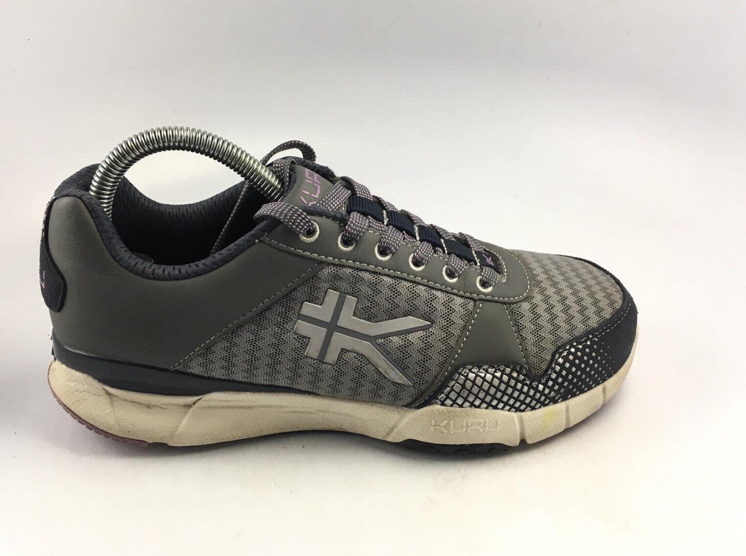 Kuru Femme Quantum Running Training Chaussures Gris/Violet 201323 taille us 7 m