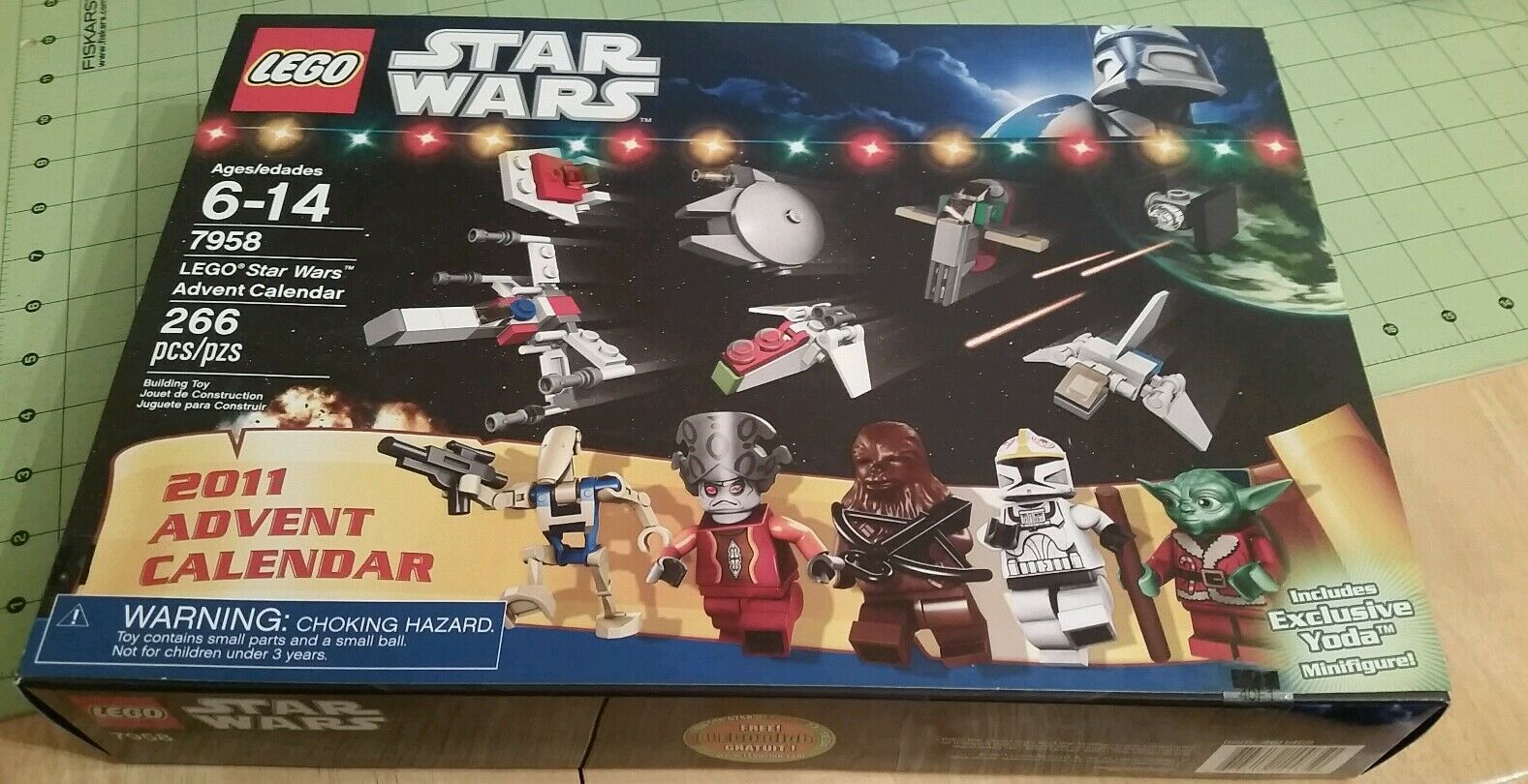 Lego 7958 Star Wars 2011 Advent Calendar New In Factory Sealed Box