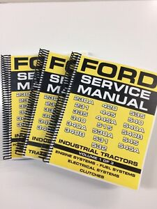 Ford-230A-231-335-340-340A-340B-Industrial-Tractor-Service-Manual-Repair-Manual