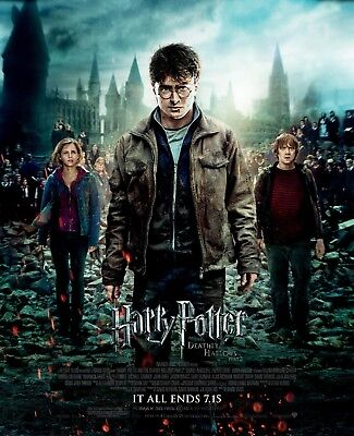 HARRY POTTER AND THE ORDER OF THE PHOENIX POSTER FILM ART A4 A3 PRINT CINEMA