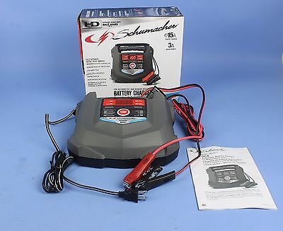 Schumacher SC4 Automatic Battery Charger - 15 amp charger and 3 amp maintainer