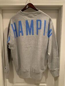 Champion-Reverse-Weave-Crew-XL-Gray-Sweater