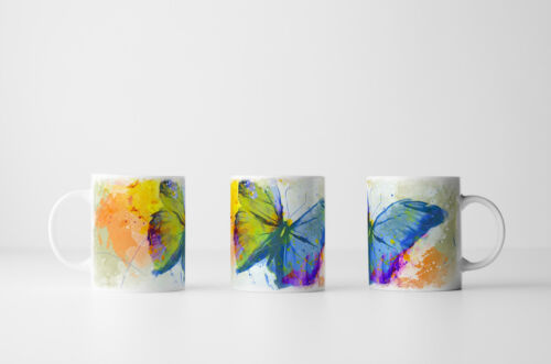 Schmetterling Tasse als Geschenk Design Sinus Art