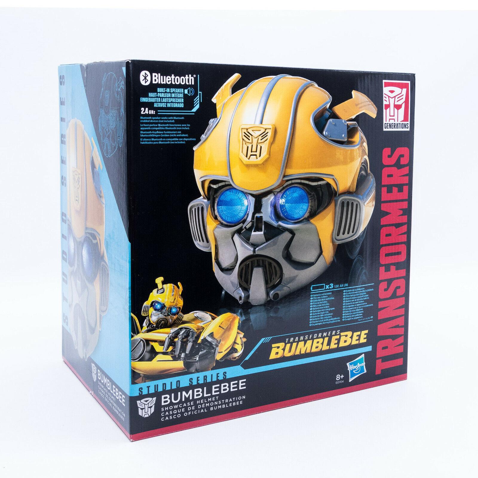 Hasbro e0704 Transformers Bumblebee réplica casco con luz & Sound nuevo en el embalaje original