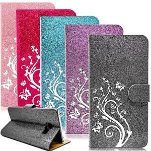 Handy-Tasche-fuer-Samsung-Galaxy-Schutz-Huelle-Flip-Cover-Case-Etui-Wallet-Bumper