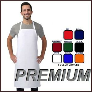 8-new-premium-professional-bib-apron-kitchen-supplies-chefs-barista-cook-craft