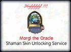 Hearthstone Shaman Hero Morgl Skin Unlocking Service  /  All Servers