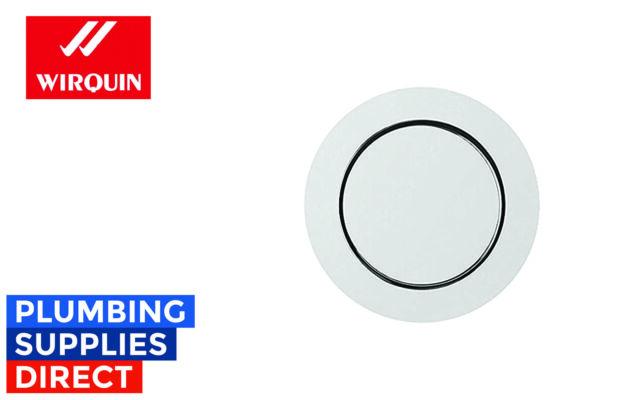 * Wirquin Macdee SYG608CP Kara 72mm Pneumatic Chrome Single Flush Push Button