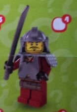 Lego 8803 Series 3 #4 Japanese Samurai Warrior figure Minifigure New Sealed pack