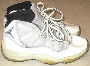Nike Air Jordan 11 Retro Legend Sneakers Shoes Blue White Boys ...