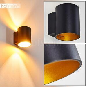 Applique-Up-Down-Lampe-murale-Design-Eclairage-de-couloir-Lampe-de-bureau-noire