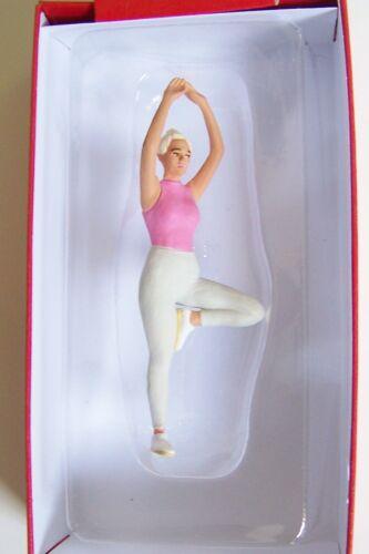 Preiser G 1:22.5 Woman in Yoga Position FIGURE # 45523 NEW 2019 RELEASE