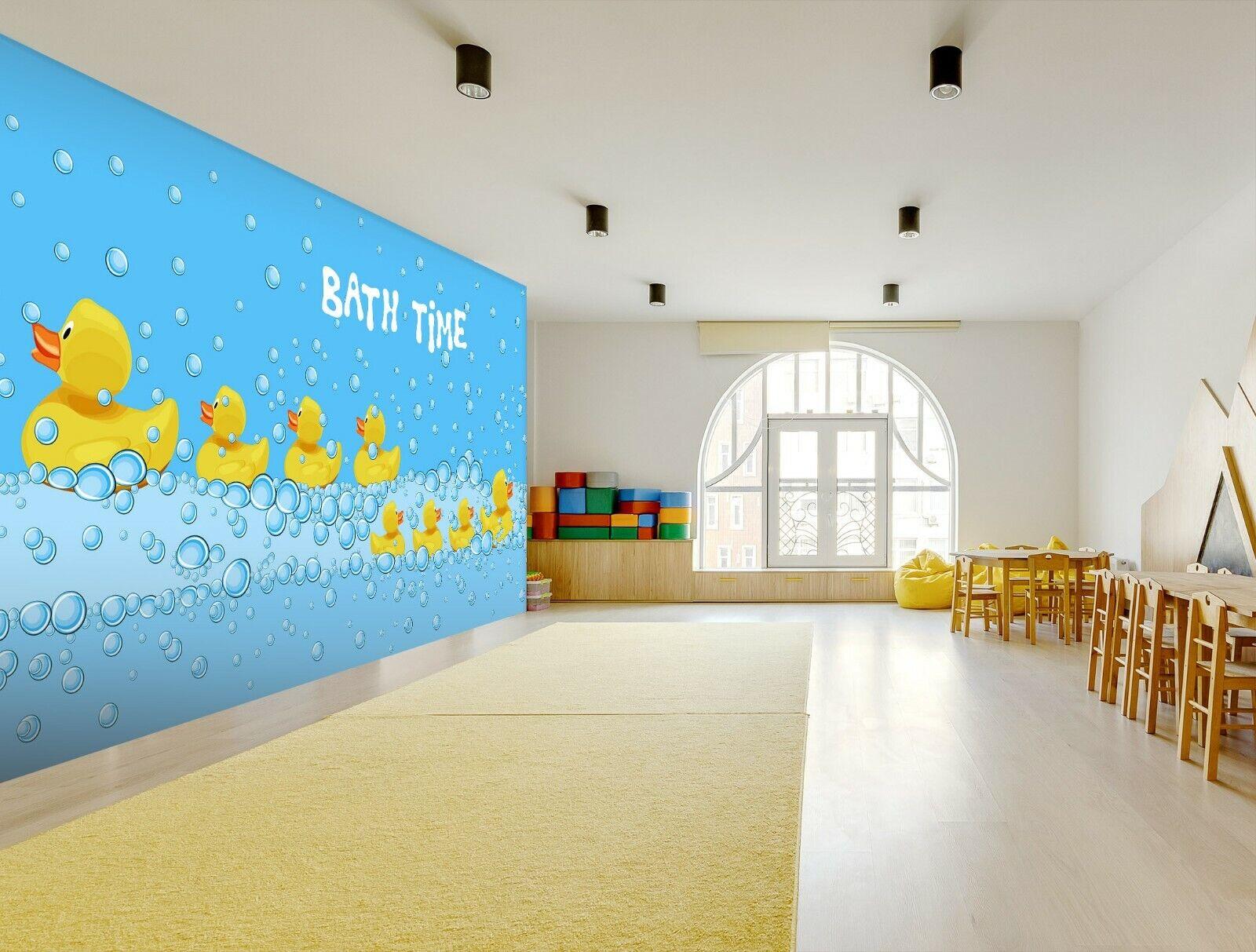 3D Little Gelb Du R300 Business Wallpaper Wall Mural Self-adhesive Commerce An