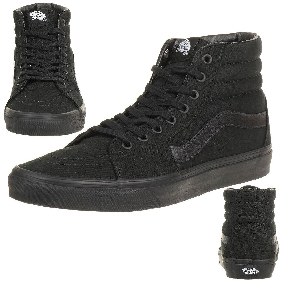 VANS Sk8-Hi Unisex-Erwachsene Sneaker TS9BJ4 schwarz schwarz canvas