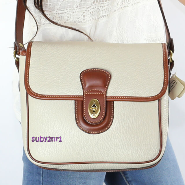 1ff02efb703e24 NWT Vintage Coach SET Greensboro Pebble Leather Crossbody Bag 4210 Wallet  NEW