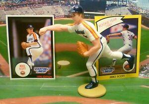Starting Lineup 1989 MIKE SCOTT Loose Figure /& Card SLU HOUSTON ASTROS