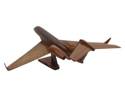 Gulfstream Aerospace GIV G650 650 Mahogany Wood Wooden Model Business Jet New