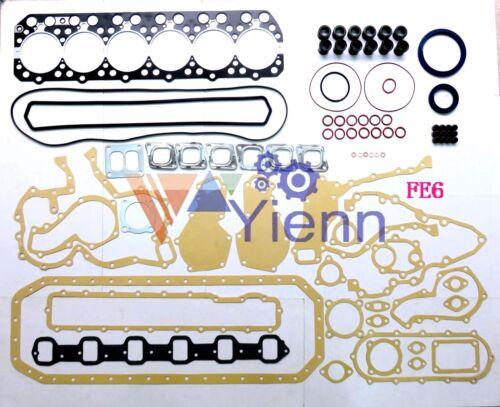 FE6 FE6T 12V overhaul gasket kit for Nissan engine rebuild UD CLG88 CMF88 truck