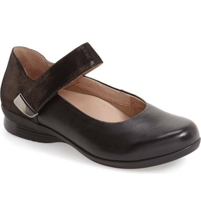 Dansko Women's Audrey Black Leather US 8