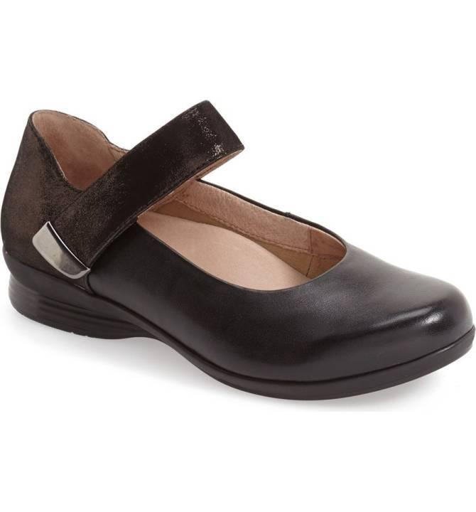 Dansko Women's Audrey Black Leather US 10