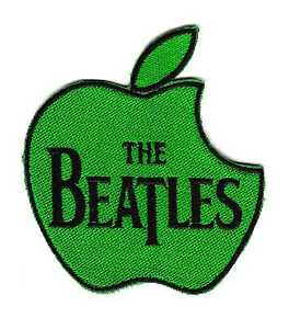 Image Is Loading The Beatles Apple Records Music Label Green