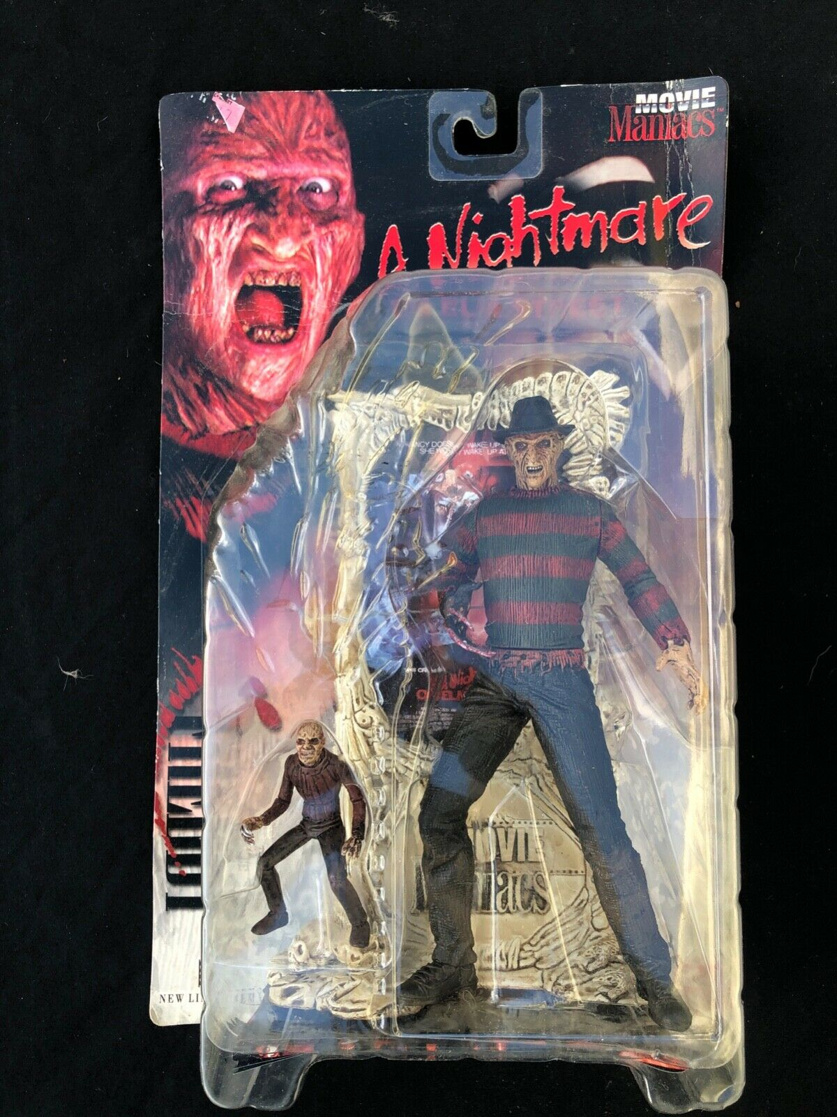 McFarlane Toys Freddy Krueger Movie Maniacs Action Action Action Figure. Rated R version 0b4d9a