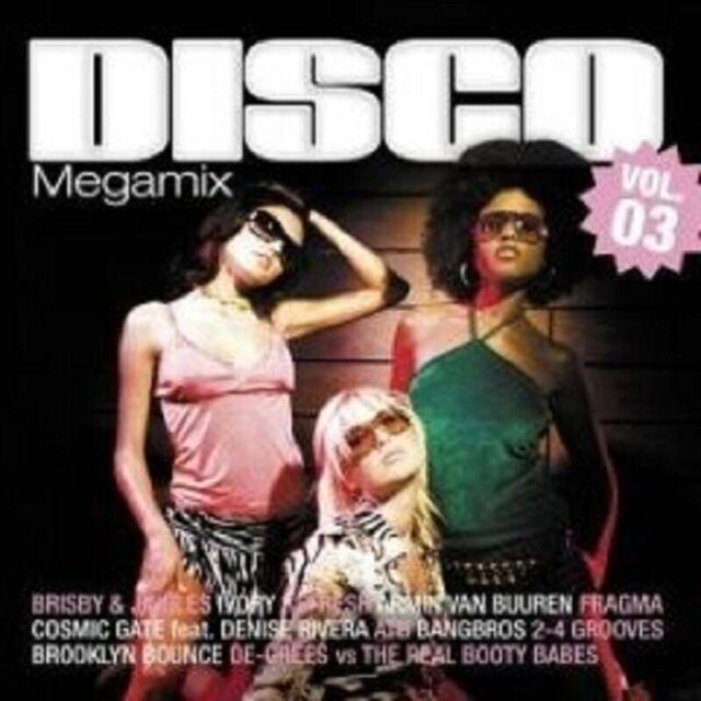 DISCO MEGAMIX VOL.3 2 CD DJ DEEP NEUWARE