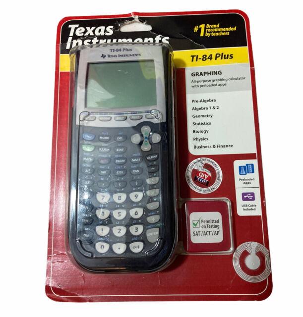 Texas Instruments TI-84 Plus Graphing Calculator Graphic Calculator - Brand New
