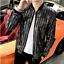 Hot-Mens-Shiny-Sequins-Casual-Nightclub-Singer-Jacket-Slim-Fit-Plus-Size-Coat thumbnail 10