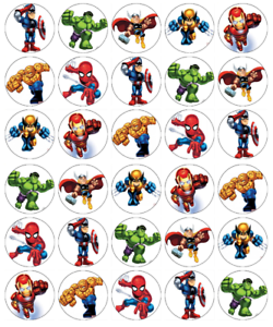 Marvel Cake Toppers Uk
