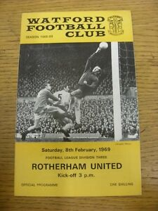 08021969 Watford v Rotherham United   Thanks for viewing this item buy with - <span itemprop=availableAtOrFrom>Birmingham, United Kingdom</span> - Returns accepted within 30 days after the item is delivered, if goods not as described. Buyer assumes responibilty for return proof of postage and costs. Most purchases from business s - Birmingham, United Kingdom