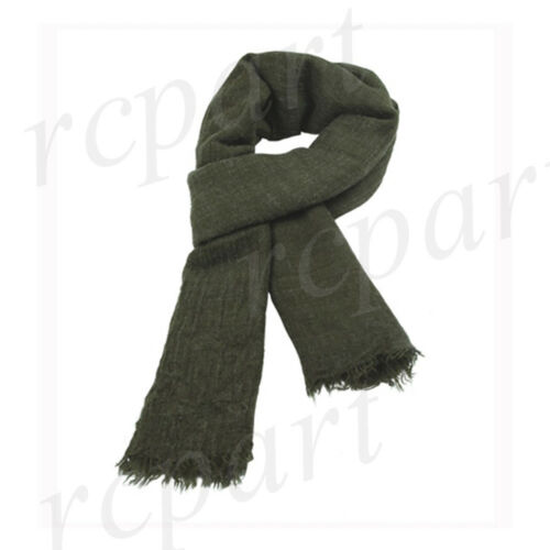 New men/'s women/'s scarf scarves large wrap winter solid polyester olive green
