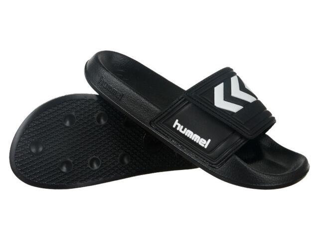new arrival e3207 e2841 Hummel Unisex Larsen Slippers Touch Fastener Bathing Shoes Water Sandals  Black 36