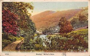 BUXTON-DERBYSHIRE-UK-MILLERS-DALE-RIVER-WYE-STONE-ARCH-BRIDGE-POSTCARD