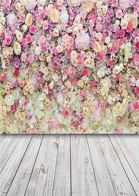 flowers background photo studio props children photography backdrops vinyl 5x7ft