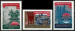 UdSSR-CCCP-Mi-Nr-4414-4416-034-58-Jahre-Oktoberrevolution-034-postfrisch