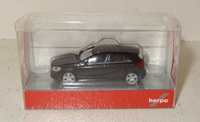 BS116 Herpa Mercedes-Benz A-Klasse blacksaphir metallic 1:87 OVP 038263-003