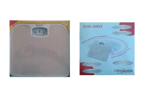 IRRADIO ZXB-2003 BILANCIA MECCANICA PESAPERSONE FINO A 130 KG