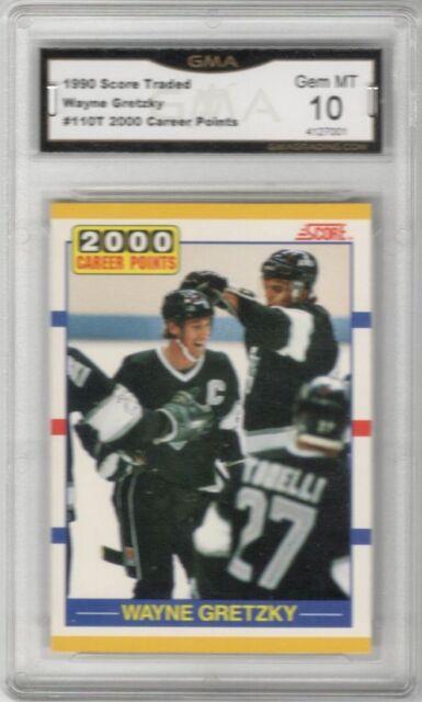 1990-91 Score Rookie Traded #110T Wayne Gretzky/2000th Point  Graded Gem Mint 10