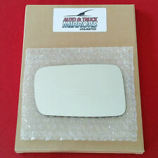 NEW Mirror Glass + ADHESIVE 02-08 BMW 745i/Li 750i/Li 760i/Li Driver Side DIM