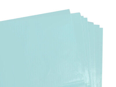 100 SHEETS OF BABY BLUE COLOURED ACID FREE TISSUE PAPER 375 x 500mm HIGH QUALITY