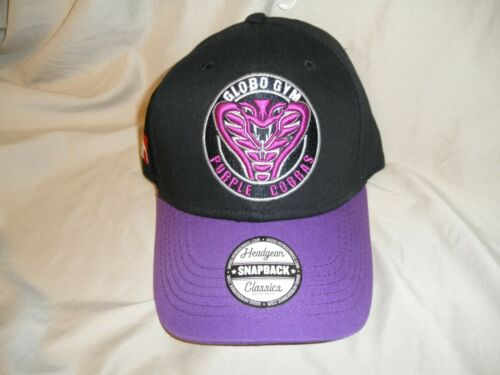 Average Joe/'s NWT/'S DodgeBall/'s Global Gym Purple Cobra/'s Hat//Cap adjustable