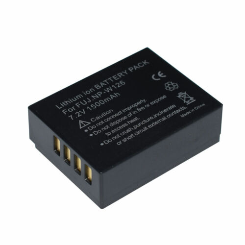2x batería de repuesto para FUJI FUJIFILM FinePix X-A10 X-A3 X-E3 X-T3 X-T30